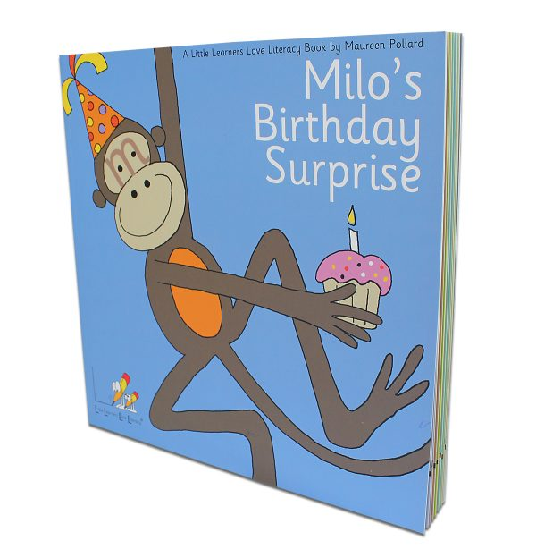 Milos Birthday Surprise Book